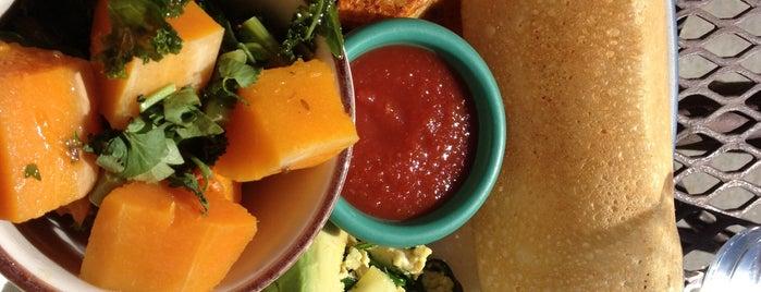 Annapurna's World Vegetarian Café is one of Locais curtidos por Nico.