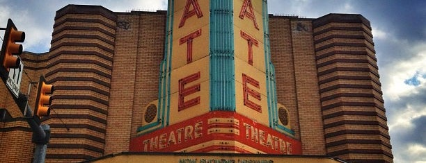 State Theater is one of Best Places to see Indie Films.