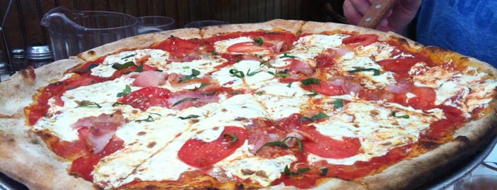 Lombardi's Coal Oven Pizza is one of NYC.