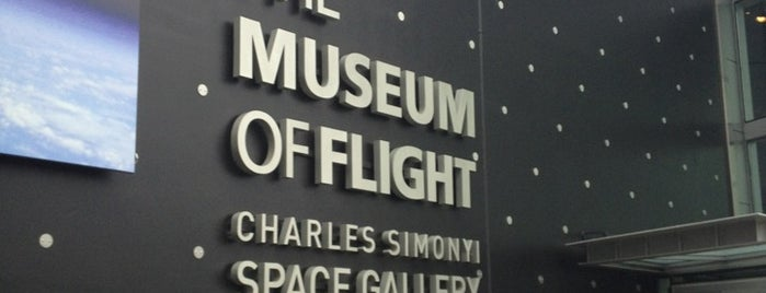The Museum of Flight is one of Aerospace Museums.
