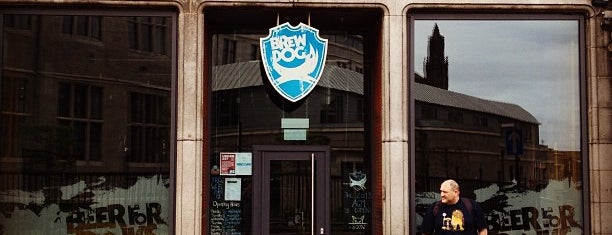 BrewDog Aberdeen is one of Rocío 님이 저장한 장소.