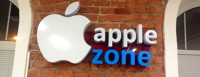 Apple-Zone is one of Orte, die Anastasia gefallen.