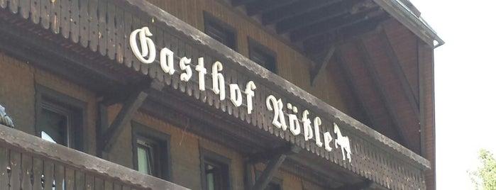 Gasthaus Rössle is one of Lugares favoritos de Erik.