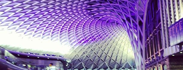 Estación de Londres King's Cross (KGX) is one of LDN (Aug'14).