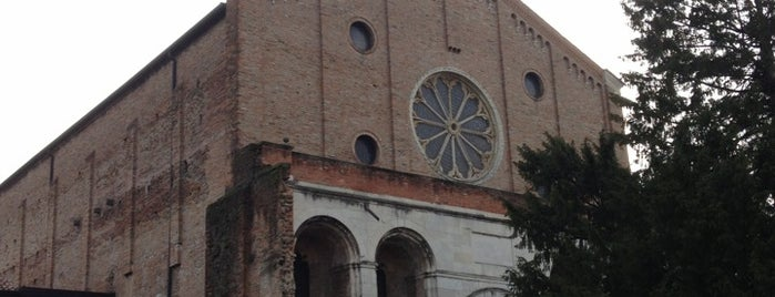 Chiesa Degli Eremitani is one of #4sqCities #Padova - Tips for travellers!.
