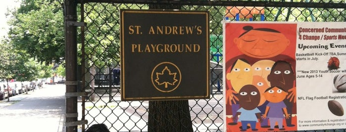 St. Andrews Playground is one of Where to play ball — Public Courts.