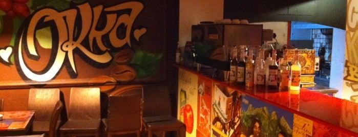 Okka Cafe & Restaurant is one of Locais curtidos por Volkan.