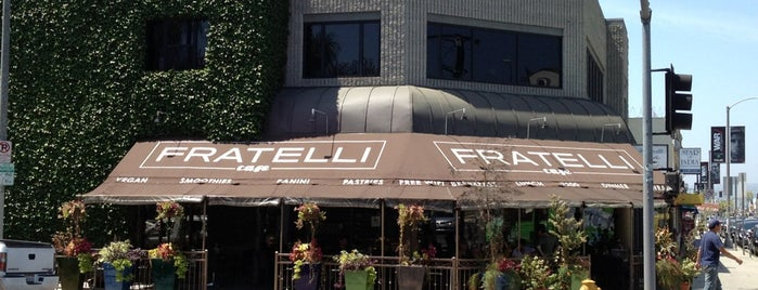 Fratelli Cafe is one of LA.