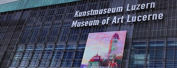 Kunstmuseum Luzern is one of Meg'in Kaydettiği Mekanlar.