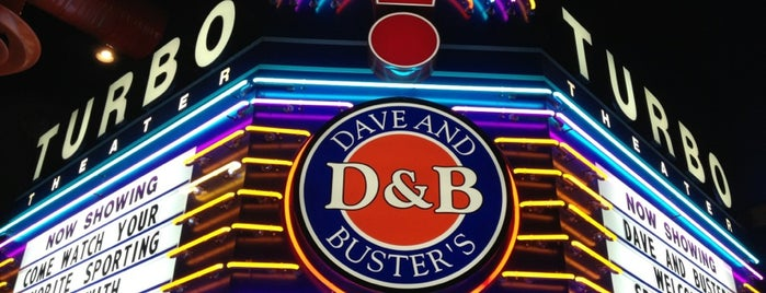 Dave & Buster's is one of All-time favorites in United States.