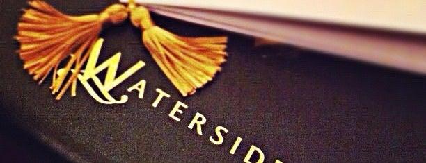 The Waterside Inn is one of 3* Star* Restaurants*.