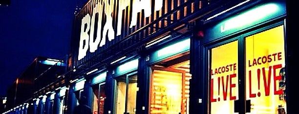 BOXPARK Shoreditch is one of London.