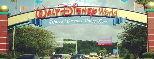 Walt Disney World Sign is one of Walt Disney World.