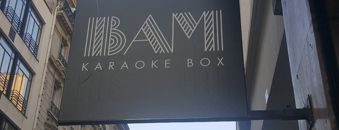 BAM Karaoke Box is one of 2do.