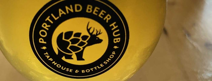 The Portland Beer Hub is one of Maine & NH.