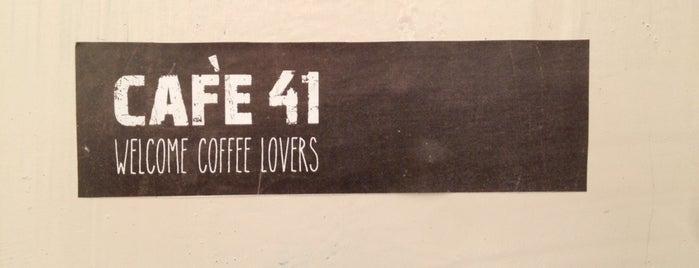Cafe 41 is one of Tel Aviv.
