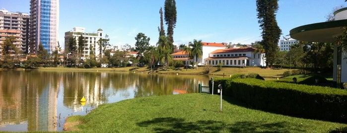 Parque das Águas de São Lourenço is one of Tempat yang Disukai Malvina.