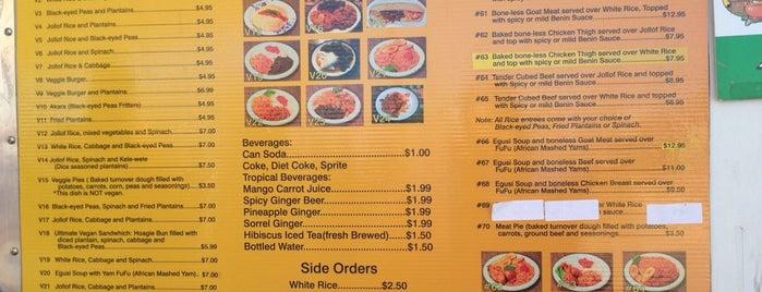 Wasota African Cuisine is one of สถานที่ที่บันทึกไว้ของ MattersOfGrey.com.
