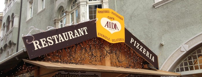 Café Restaurant Pizzeria Aida is one of Tempat yang Disimpan Gianluca.