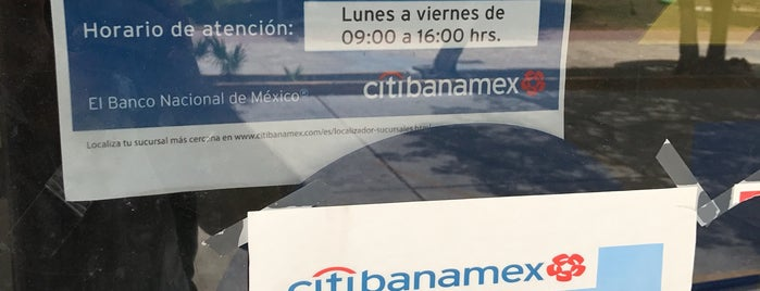Banamex is one of mis lugares.
