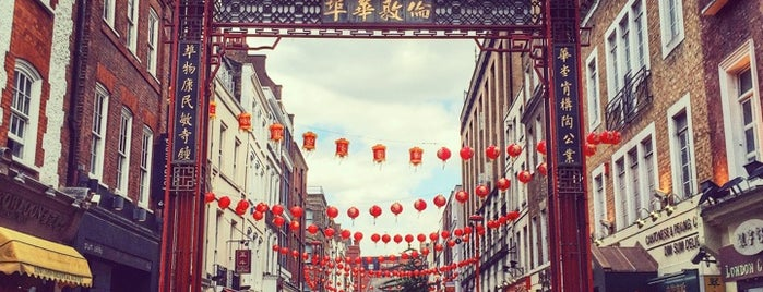 Chinatown is one of Where to go in London.