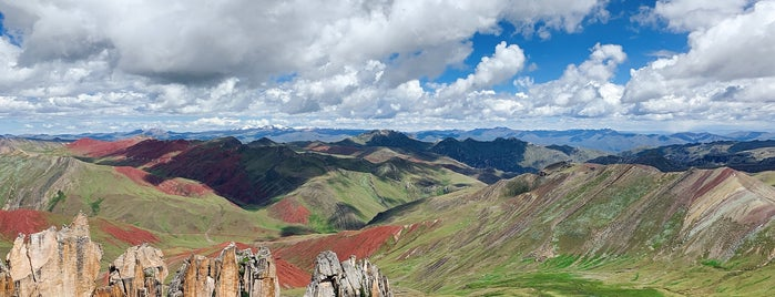 Rainbow Mountain is one of Peru.