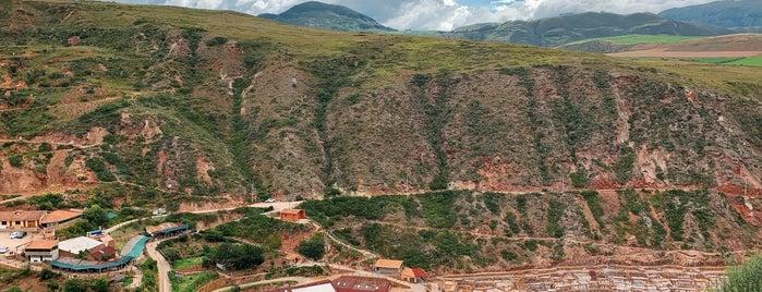 Salineras de Maras is one of Cusco (PER).