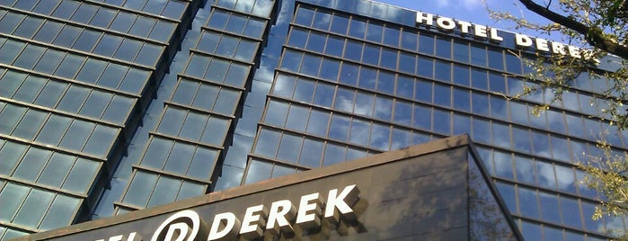 Hotel Derek is one of Houston Favorites.