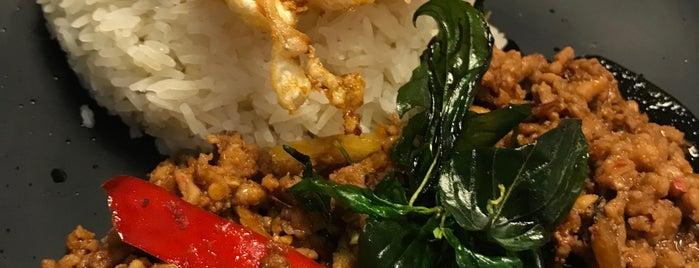 E-Sarn Thai Cuisine is one of MAC 님이 좋아한 장소.