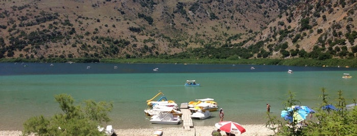 Kournas Lake is one of Kreta.