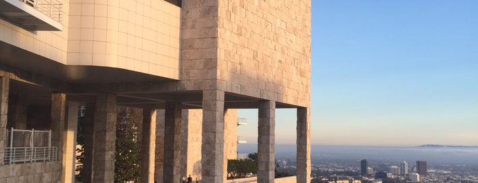 The Getty Center is one of Tempat yang Disimpan Oscar.