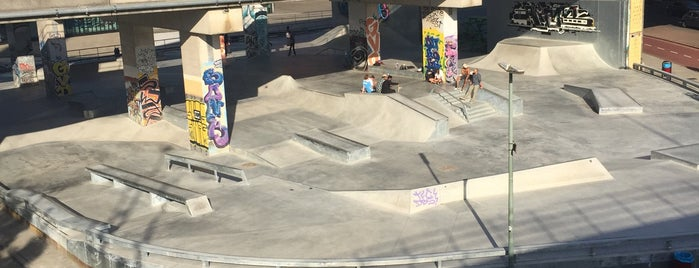 Skatebaan Maasplaza is one of Hangout Spots.