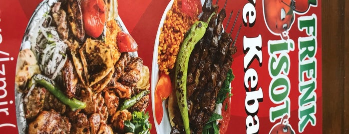Frenk İsot Kebap Evi is one of İZMİR EATING AND DRINKING GUIDE-2.