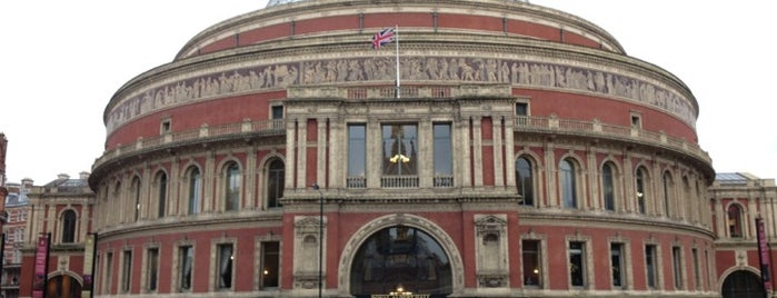 Royal Albert Hall is one of England (insert something witty here).