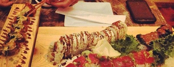 Kyu Sushi is one of สถานที่ที่ Irini ถูกใจ.