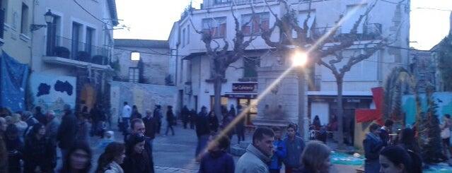 Plaça de l'Esglèsia is one of Places castelleres de nou.