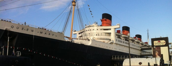 The Queen Mary is one of Alicia's Top 200 Places Conquered & <3.