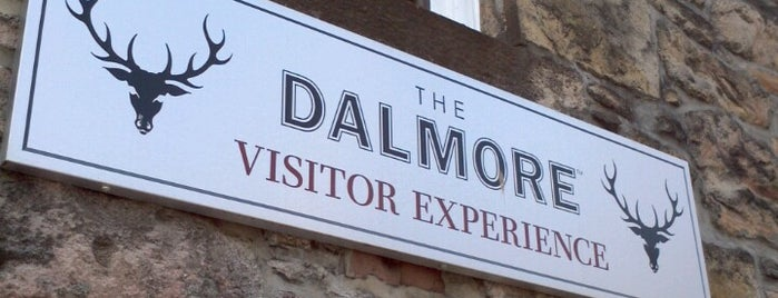 The Dalmore Distillery Visitor Experience is one of Tempat yang Disimpan Kurt.