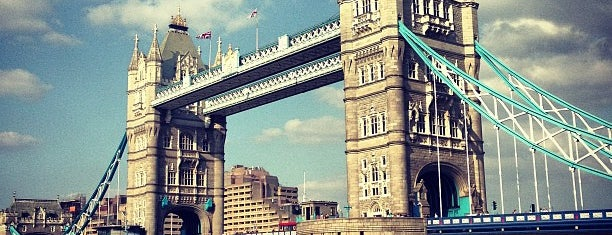 Tower Bridge is one of London to-do.