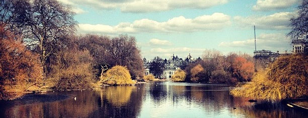 St James's Park is one of London Cultural.