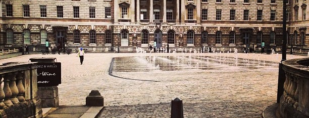 Somerset House is one of London to-do.