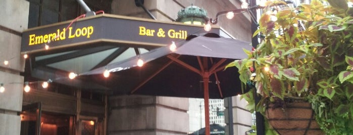 Emerald Loop Bar & Grill is one of Chicago Loop Food Favorites.