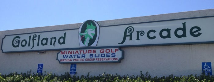Golfland Emerald Hills is one of Miniature Golf.