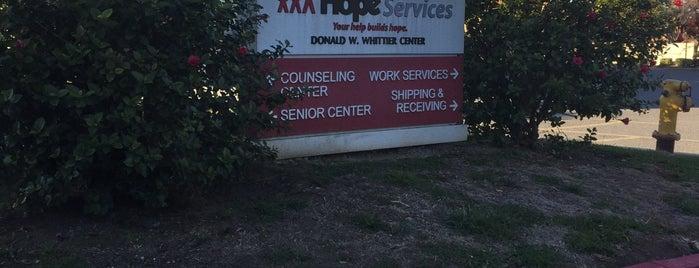 Hope Services is one of Orte, die Mark gefallen.
