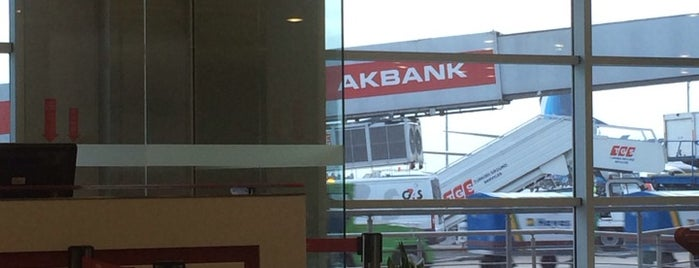 Gate 504 is one of İstanbul Atatürk Airport.