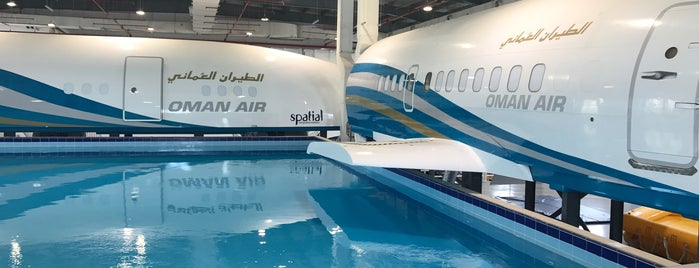 OmanAir Mockup is one of Oman.