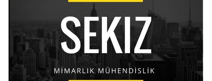 Sekiz Mimarlık | Mühendislik is one of Tempat yang Disukai Özgür.