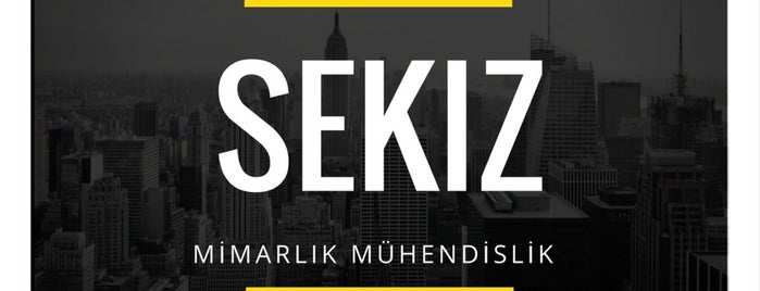 Sekiz Mimarlık | Mühendislik is one of Özgürさんのお気に入りスポット.