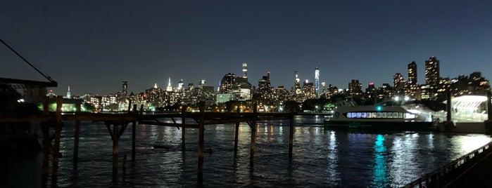 NYC Ferry - Astoria Landing is one of Tempat yang Disukai st.