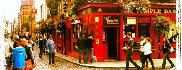 The Temple Bar is one of Hans Zimmer — Irish Pub.